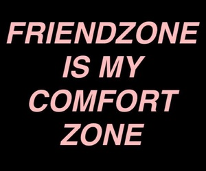 black, comfort zone, and depression image