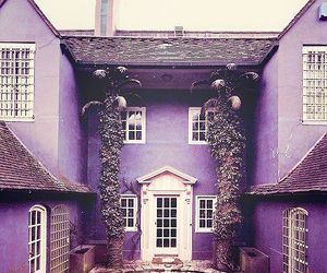 purple, home, and house image