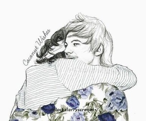 larry, Harry Styles, and one direction image