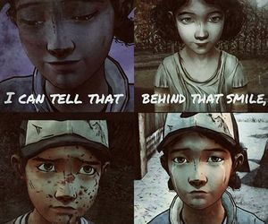 clementine, games, and sad image