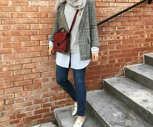 booties, scarf, and ootd image
