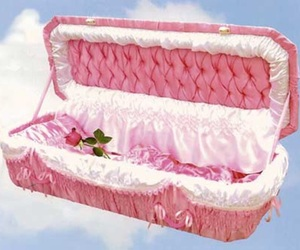 pink and coffin image
