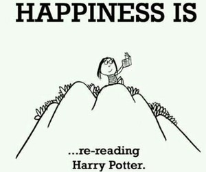 draw, happiness, and harry potter image