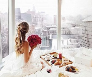 breakfast, city, and luxury image