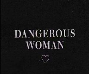 wallpaper, ariana grande, and dangerous woman image