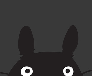 anime, phone, and totoro image