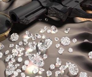 diamond and gun image