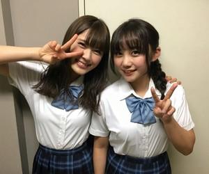 akb48, shibuya nagisa, and yabushita shu image