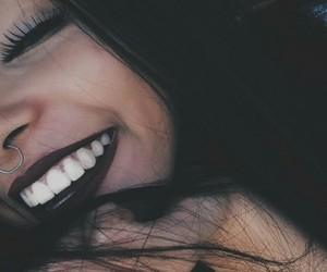 girl, smile, and makeup image
