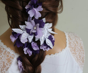 etsy, hair pins, and wedding accessories image