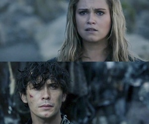 clarke griffin, bellamy blake, and the 100 image
