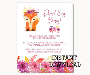 etsy, printables, and baby shower game image