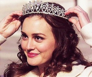 leighton meester, blair waldorf, and gossip girl image