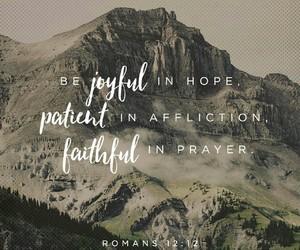 faith, hope, and Romans image