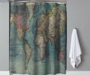 shower curtain, bath, and ebay image