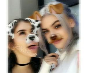 sahar luna, kelsey calemine, and kelsey image