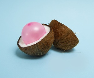 coconut, balloon, and blue image