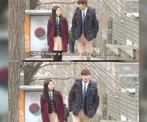lee min ho, kdrama, and park shin hye image
