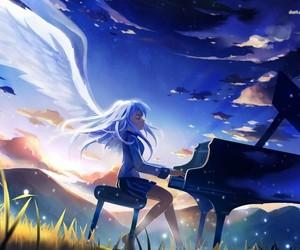 angel, angel beats, and anime image