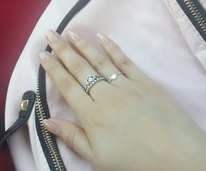 jewelry, pandora, and ring image