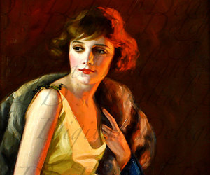 art deco, fashion plate, and jazz age image