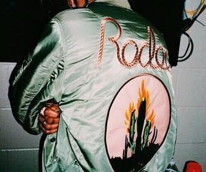dark, jacket, and theme image