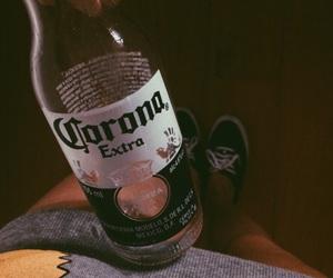 corona, drink, and vans image
