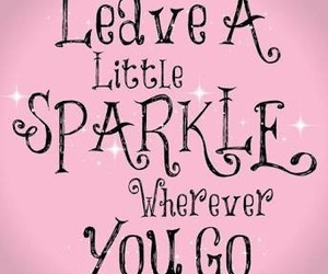 sparkle, quotes, and pink image
