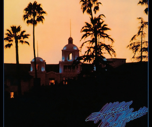 music, the eagles, and hotel california image