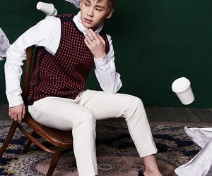 handsome guy, ilhoon, and cute swag image