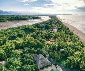 beach, beauty, and costa rica image