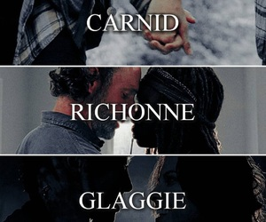 thewalkingdead, glaggie, and richonne image