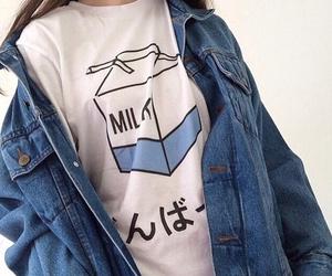 milk, grunge, and style image