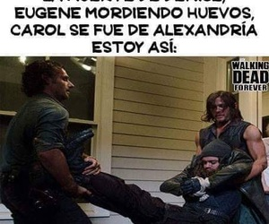 funny, the walking dead, and twd image