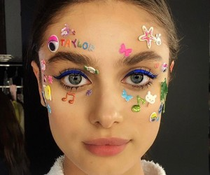 taylor hill, model, and sticker image