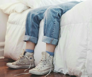 white, aesthetic, and converse image