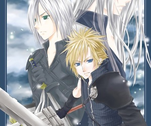 advent children, cloud strife, and final fantasy image