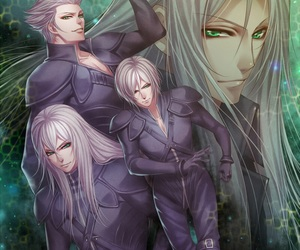 final fantasy, Sephiroth, and kadaj image