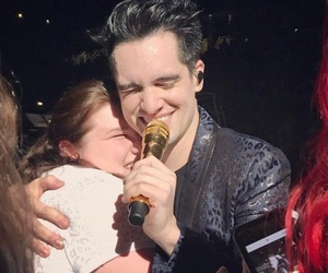 brendon urie, panic! at the disco, and lucky girl image