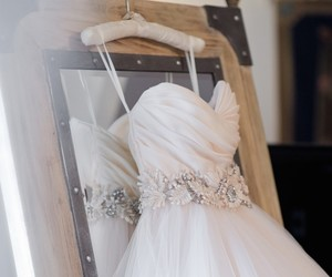 style, wedding dress, and bride image
