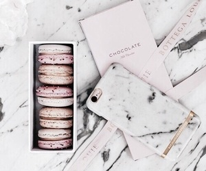 macaroons, marble, and food image