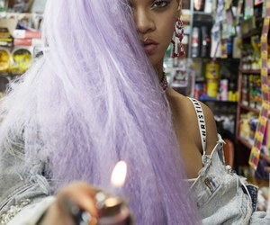 rihanna, riri, and purple image