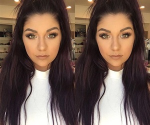 hair, youtube, and andrea russett image