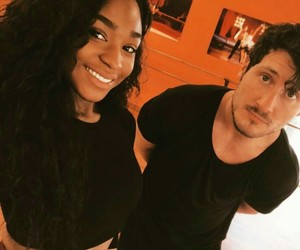 dancing with the stars, val chmerkovskiy, and normani kordei image