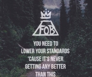 fall out boy, FOB, and wallpaper image