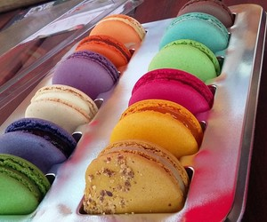 colors, food, and yummy image