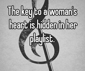 music and woman image