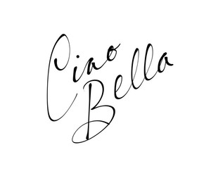 saying, word, and ciao bella image