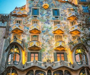 Barcelona, house, and spain image