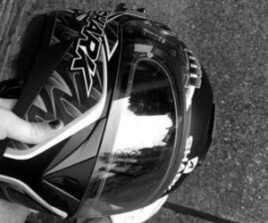 drive, helmet, and motorcycle image